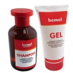 Set impotriva caderii parului Hemel Hair Care Against Hair Loss Gel + Shampoo